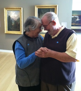 Dave and Ramona at the Crocker Museum